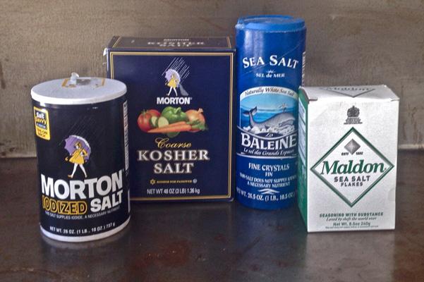 Non Iodized Sea Salt Brands Types of salt bakepedia tips
